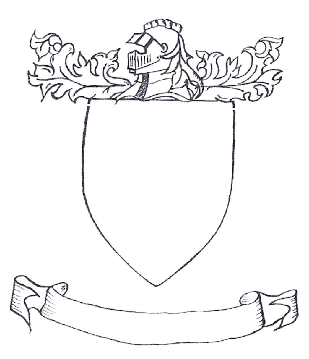 Shield Drawing Template At Getdrawings Free For Personal Use