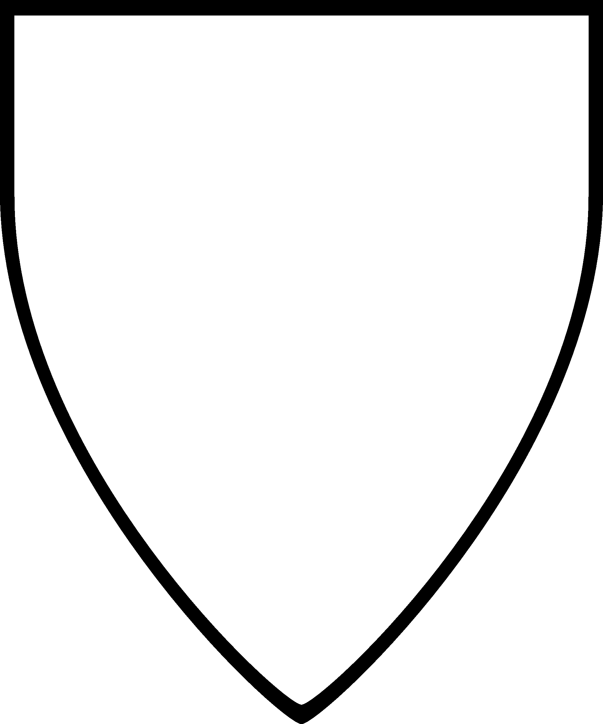 Shield drawing template at free for for Blank shield template printable