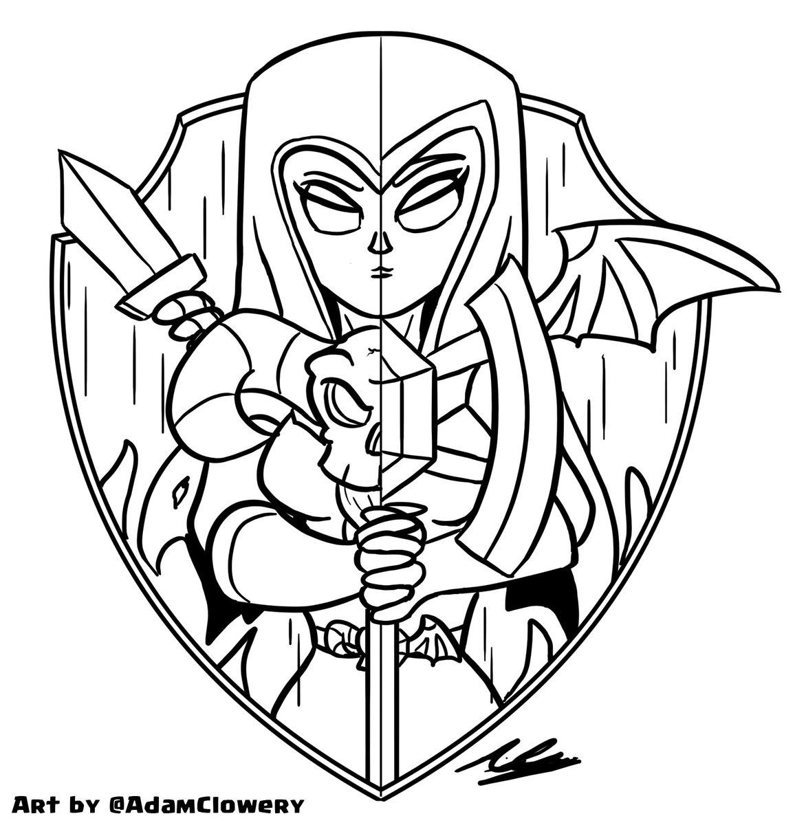 1156x1200 Adam Clowery On Twitter Witch Night Witch Shield Line Art