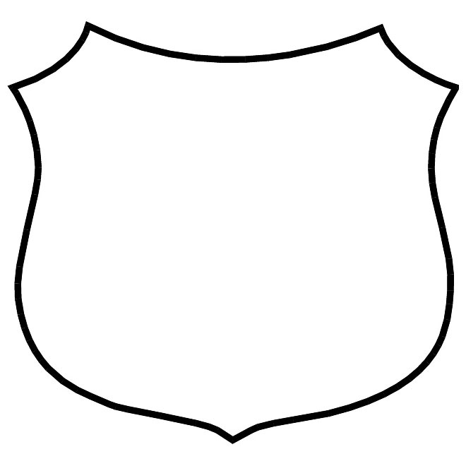 660x660 Shield Outline Free Vector