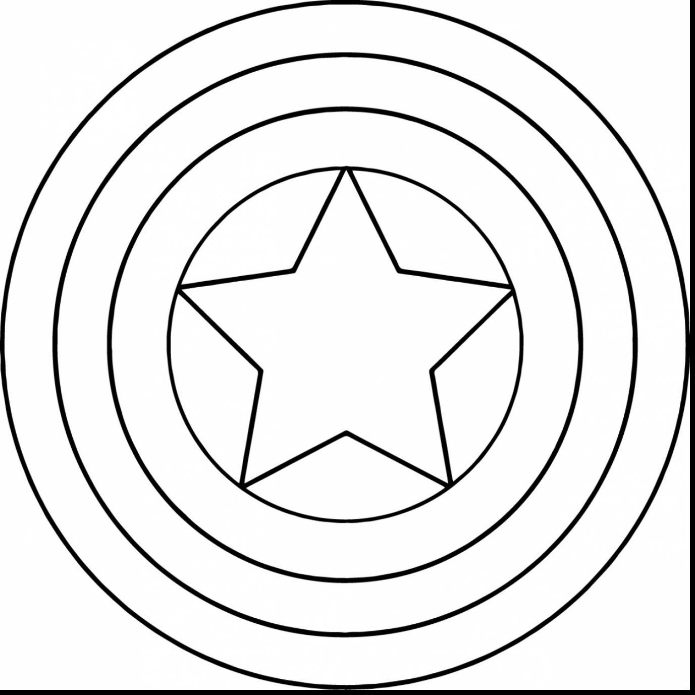 1377x1377 Captain America Shield Drawing