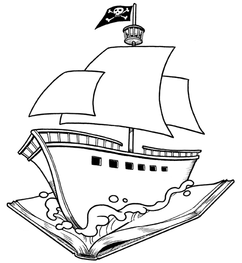 478x520 Pirate Ship Line Art By Cmichaelhall