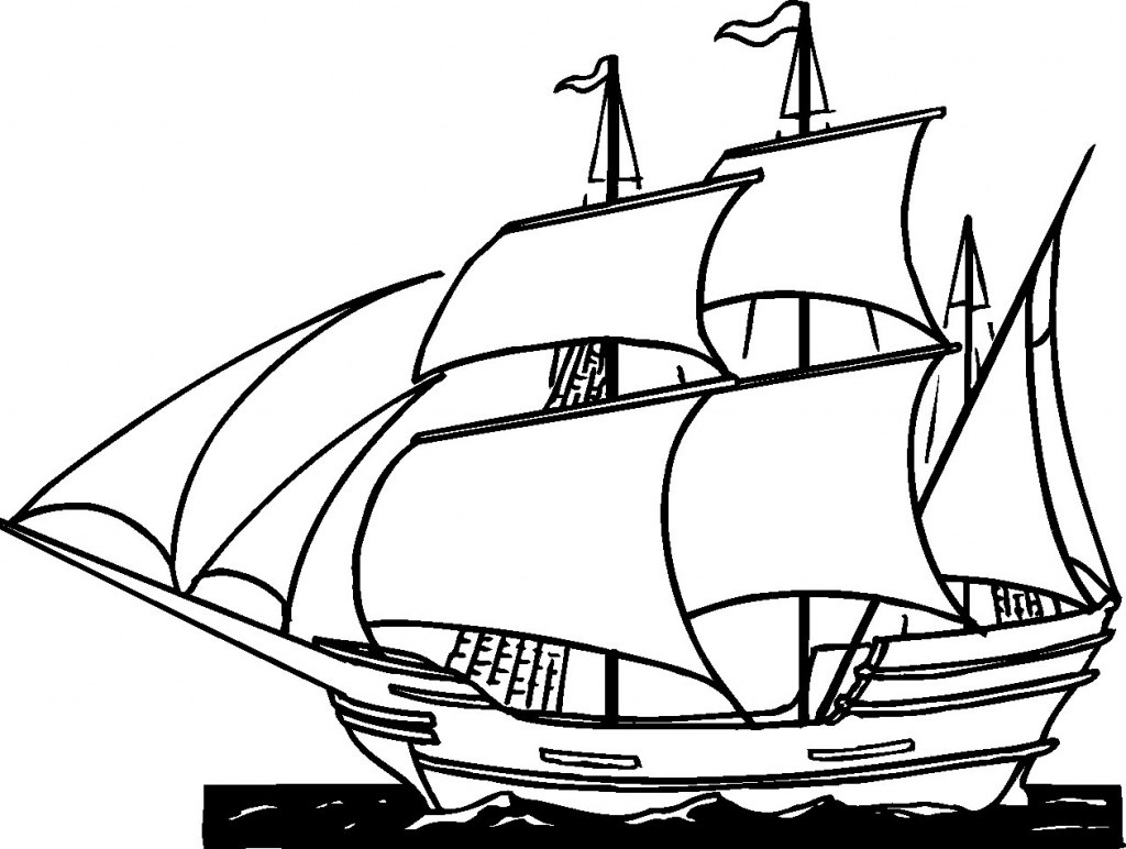 1024x772 Simple Drawing Of A Ship Simple Drawing Of A Ship