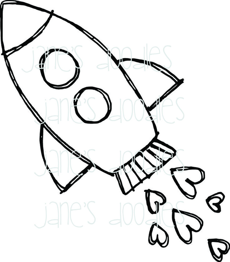 736x839 Drawing Rocket Ship Rocket Ship Drawing Easy