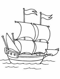 236x314 Pirate Ship Coloring Pages These Cartoon Pirate Coloring Pages