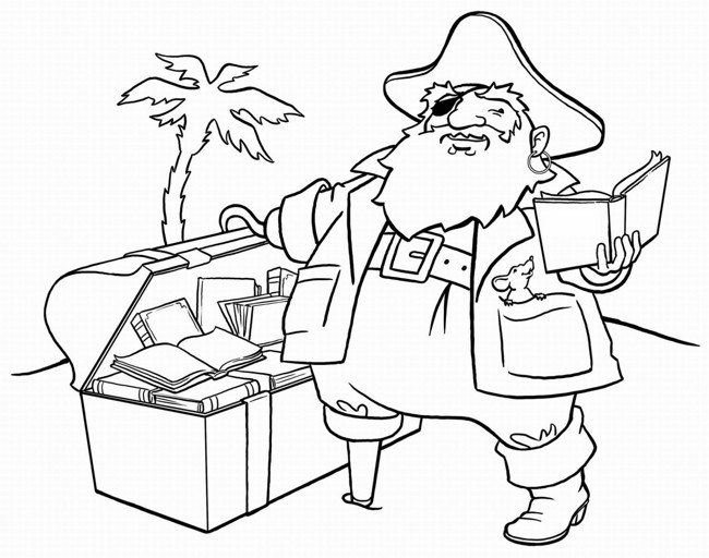 650x512 Pirate Ship Coloring Pages For Kids Print Coloring Pages
