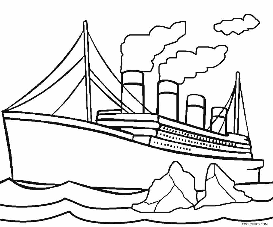 950x792 Printable Titanic Coloring Pages For Kids Cool2bKids