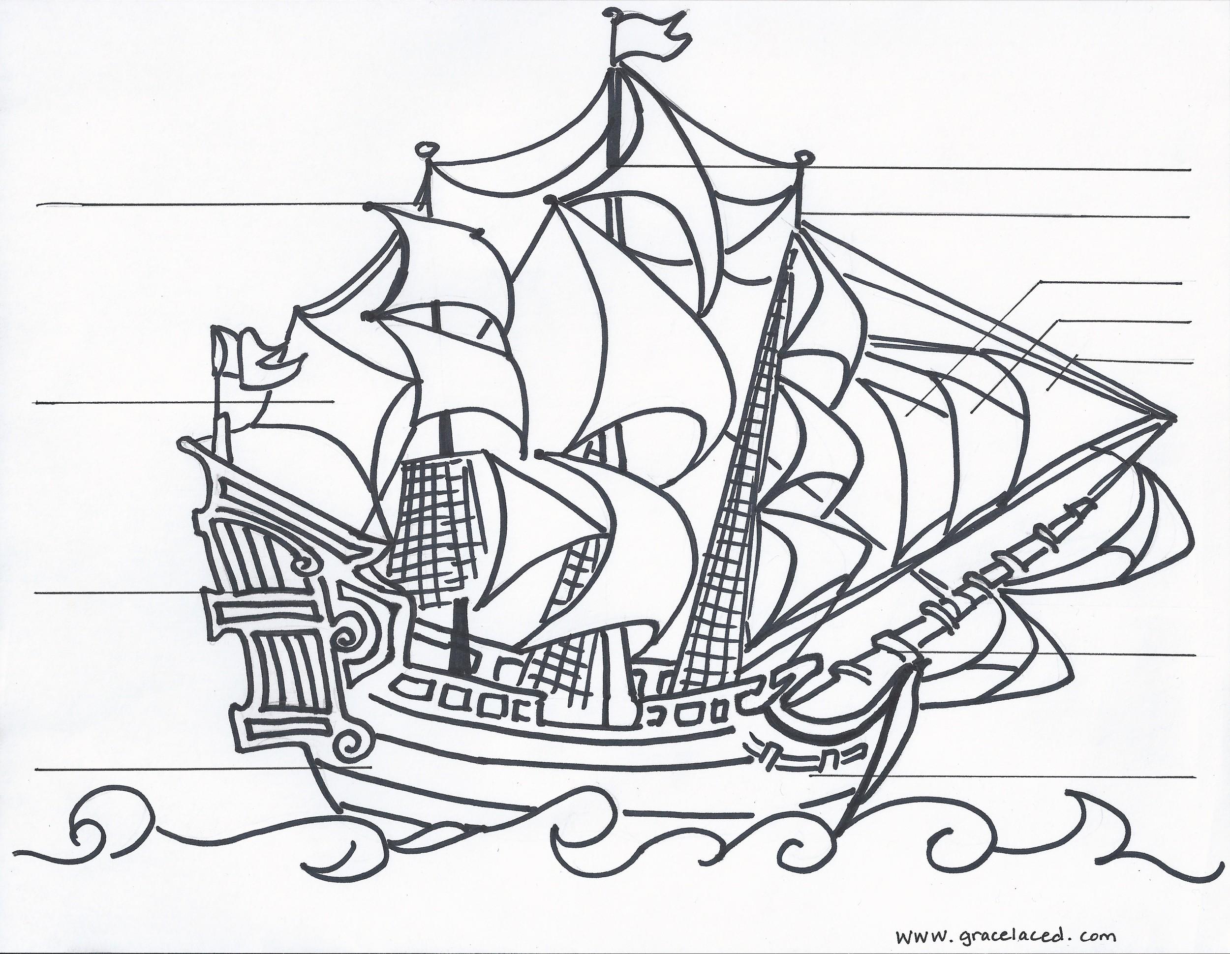 2500x1940 Printable Sailing Ship Inspirational Sailing Ship Clipart Marine