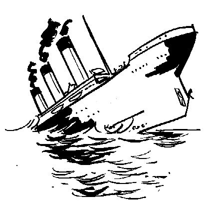 433x410 Sinking Ship The Standard