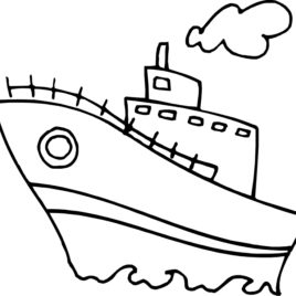 268x268 House Boat Coloring Pages Coloring Pages Wallpaper Boat House