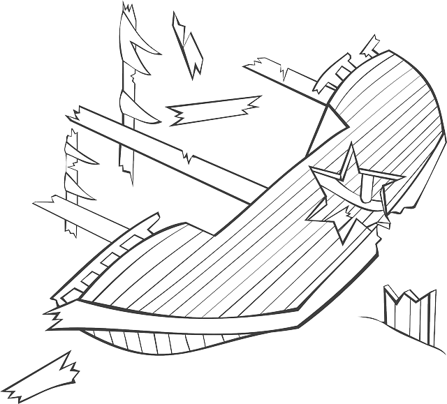 640x579 Shipwreck Drawing For Kids Sunglassesray