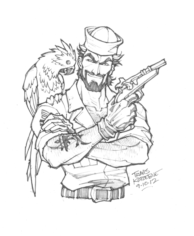 624x758 Sketch Of The Day Shipwreck From G.i.joe By Skullbabyland