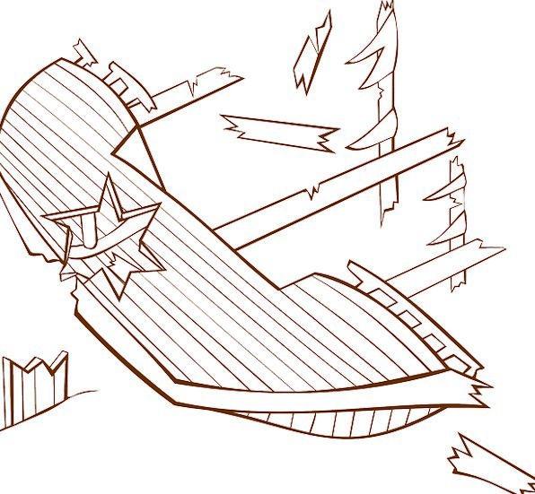 596x551 Wreck, Crash, Vessel, Sunken, Recessed, Ship, Ruin, Cracked