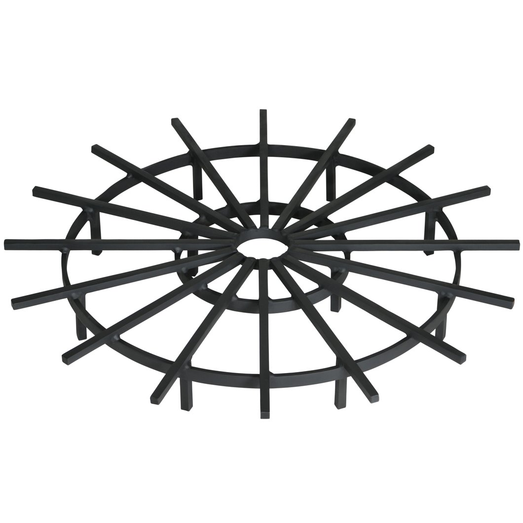 1060x1060 40 Inch Heavy Duty Ship's Wheel Fire Pit Grate Federated Trade