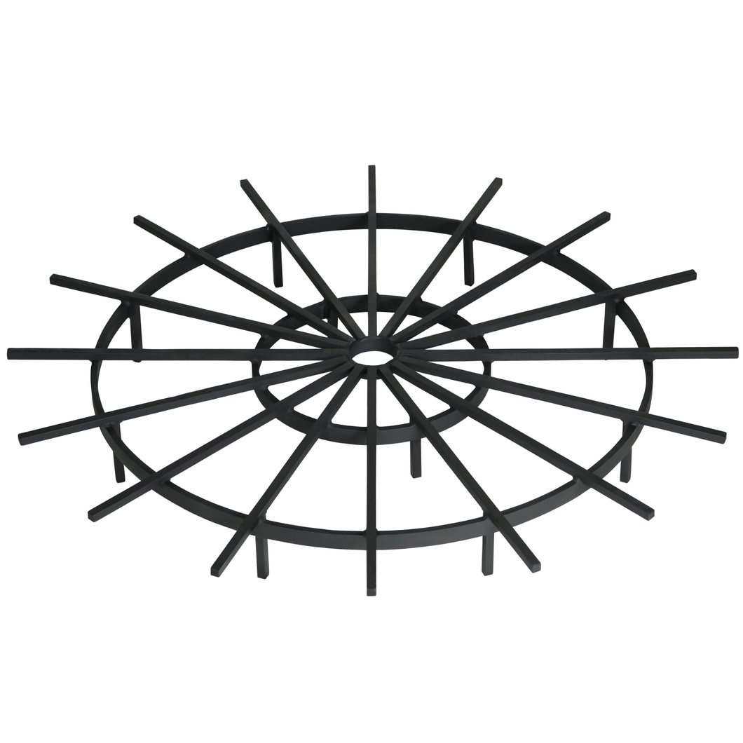 1060x1060 40 Inch Ship's Wheel Fire Pit Grate Federated Trade