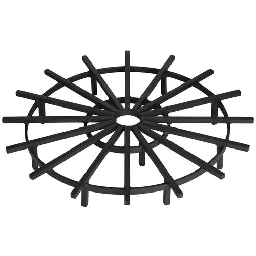 500x500 Super Heavy Duty Ship's Wheel Fire Pit Grates Federated Trade