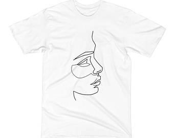 340x270 Hand Drawn T Shirt Etsy