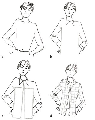 317x400 How To Dress Up The Button Down Shirt