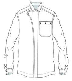 236x266 Technical Drawing Shirt