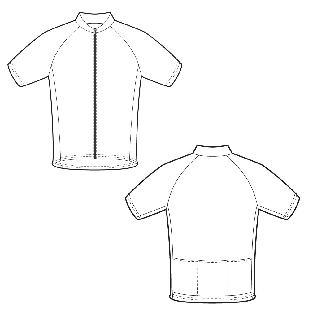 Shirt Drawing Template