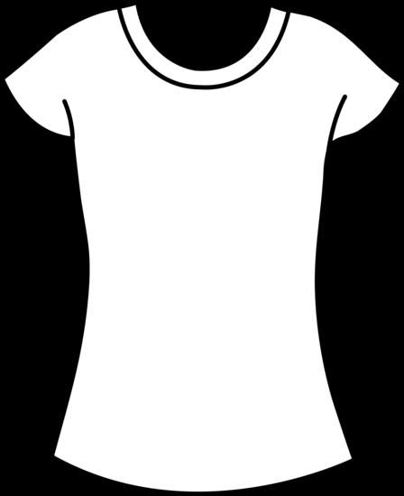 448x550 Womens T Shirt Template