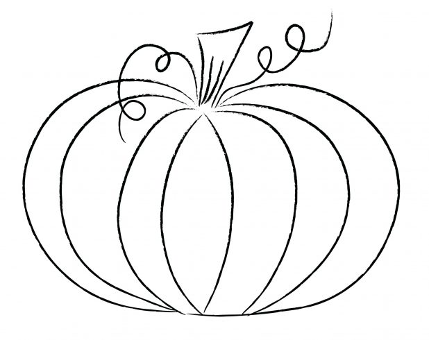 618x490 Jack O Lantern Shirt Stencils Pumpkin Outline Svg Templates