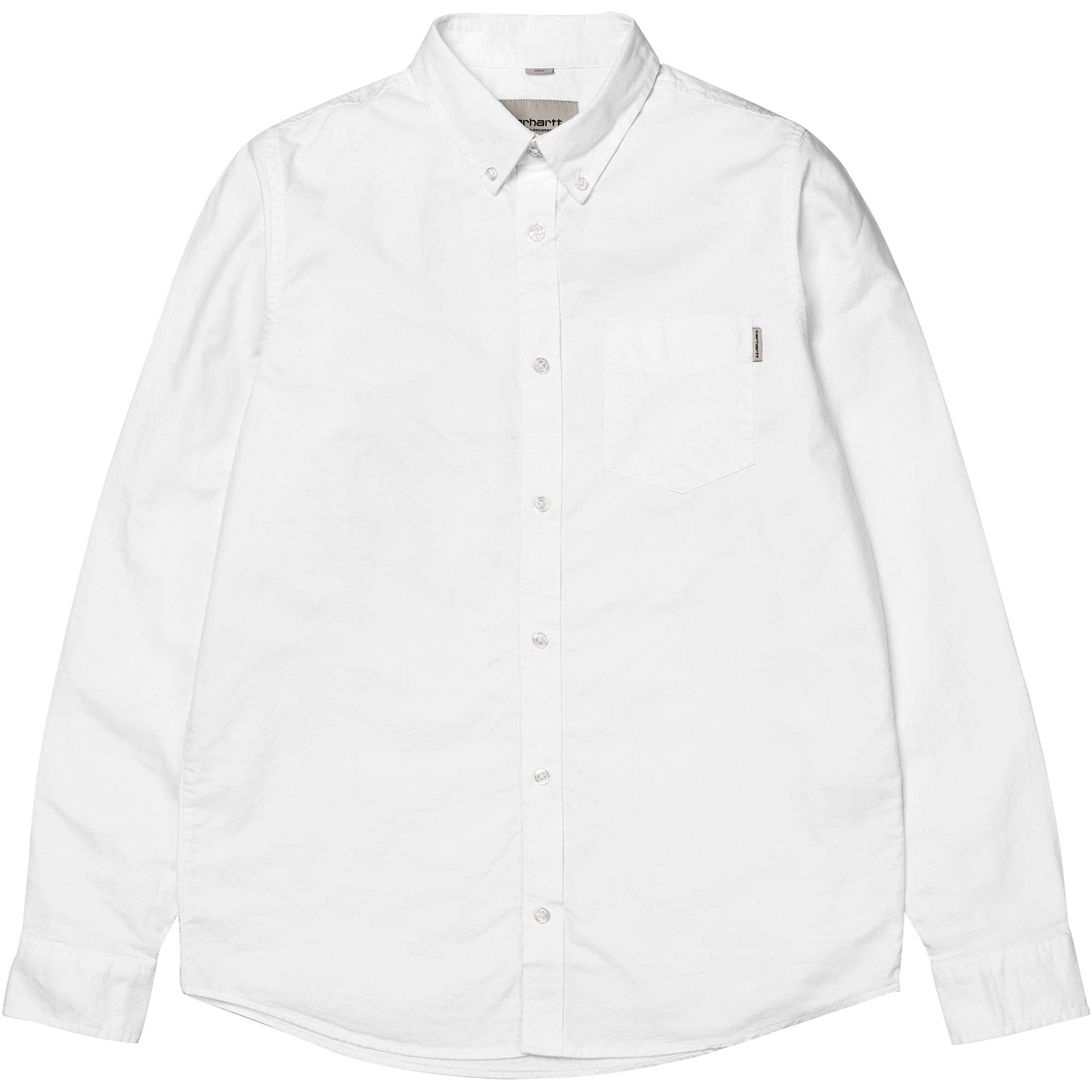 1501x1501 Carhartt Button Down Pocket Shirt In White For Men