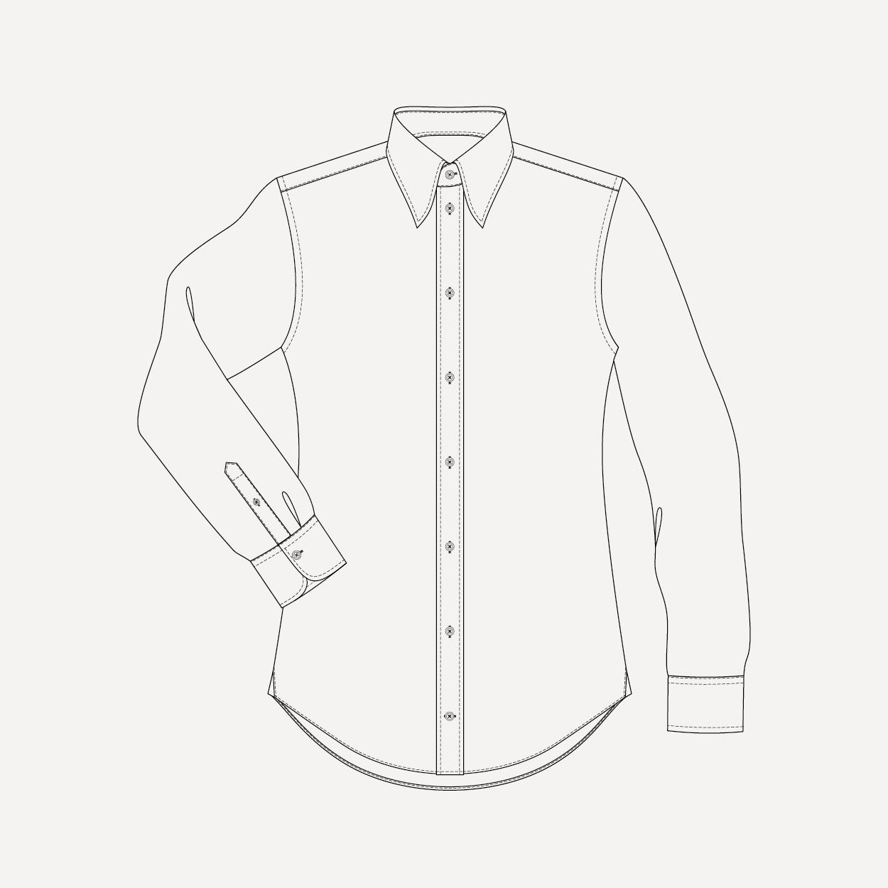 1250x1250 Made To Measure Shirt For Men Personalised Shirt London Uk