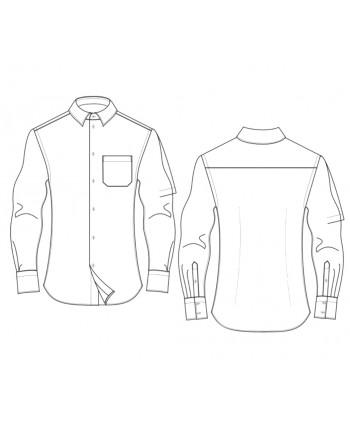 350x425 Custom Fit Men's Shirts Designer Sewing Patterns, Affordable Trend