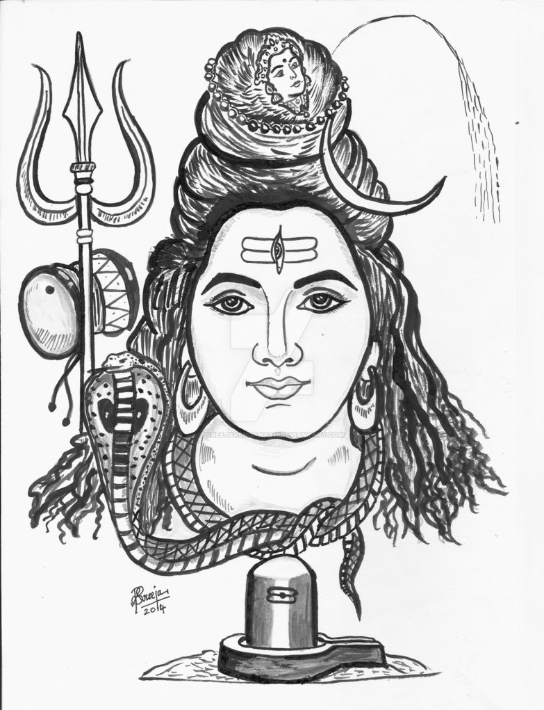 783x1021 lord shiva by sreejarenganath