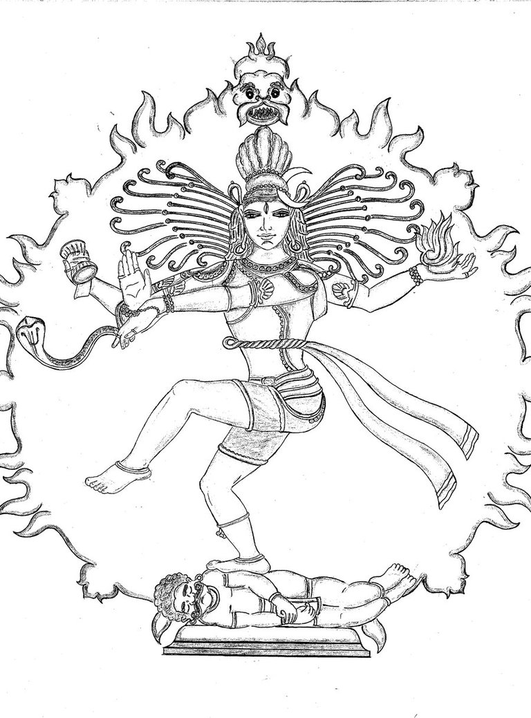 768x1039 shiva as nataraja by bharath22884