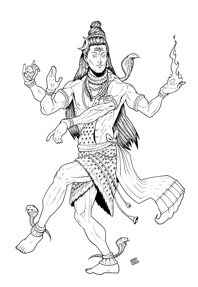 Yoni Kleurplaat Shiva Drawing At Getdrawings Com Free For Personal Use