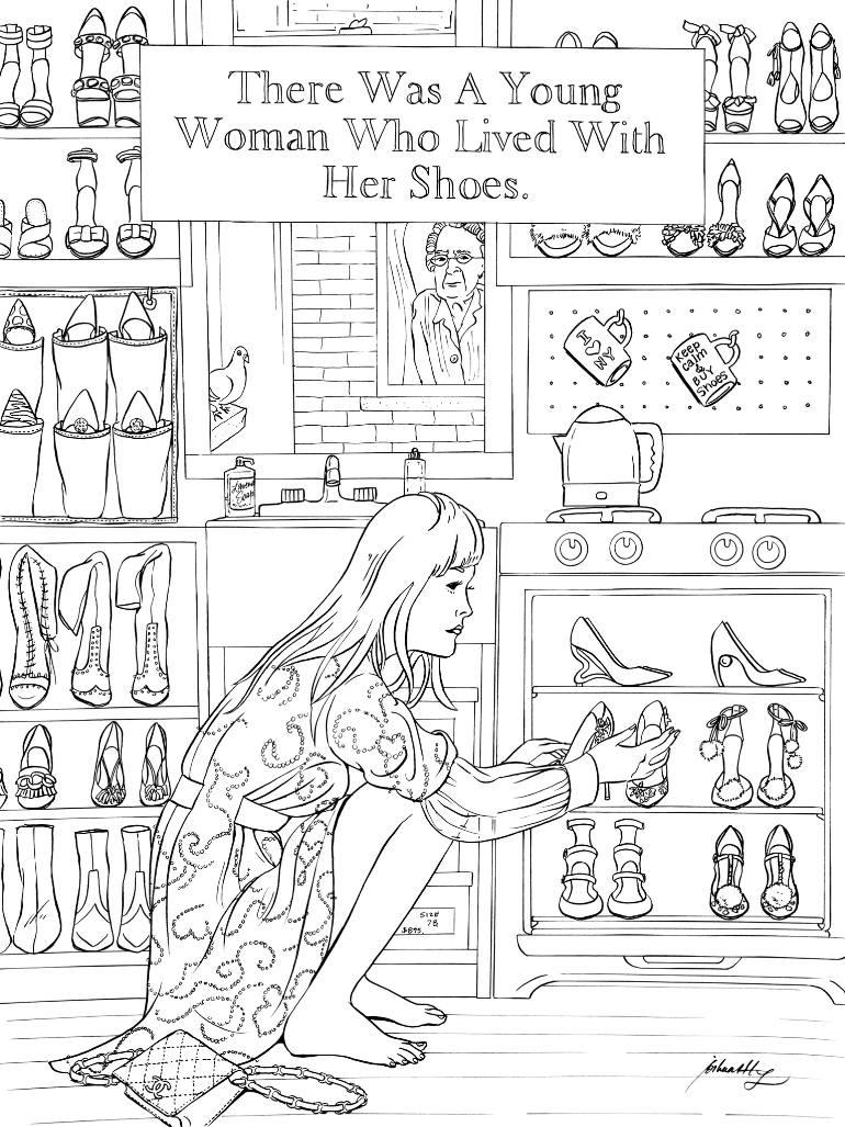 770x1027 Saatchi Art Nyc3671 Manhattan Shoebox Drawing By Joshua Wong