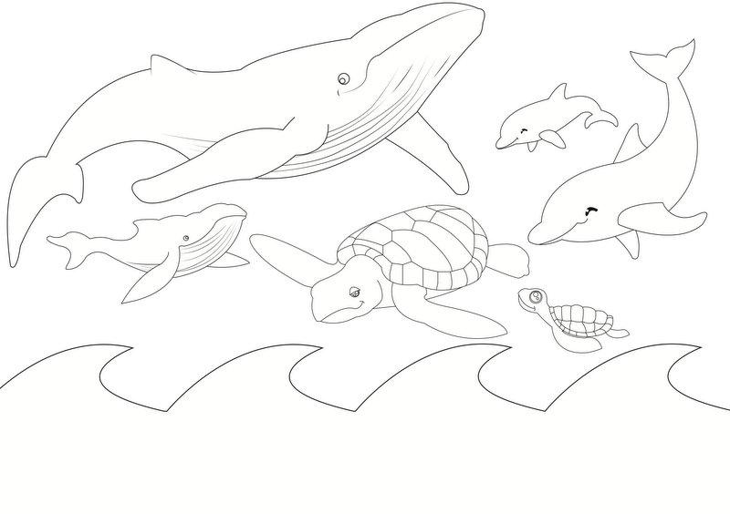 800x564 Sea Animals Shoebox Puppet Theatre Be A Fun Mum