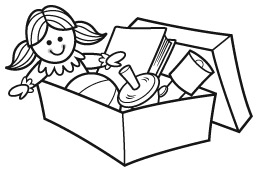 Operation Christmas Child Clip Art.Shoe Box Drawing At Getdrawings Com Free For Personal Use