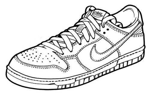500x315 Dunk My Drawing Of Nike's Dunk Shoes For A Shoe
