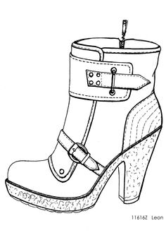 236x333 Photos Drawings Of Ladies Shoes,