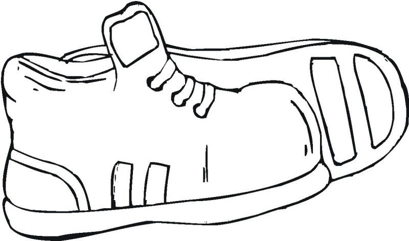 800x471 Kids Shoes Coloring Page Boys Pages