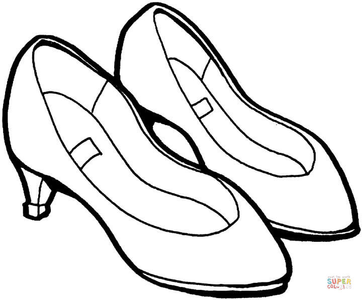 720x597 Summer Shoes Coloring Page Free Printable Coloring Pages