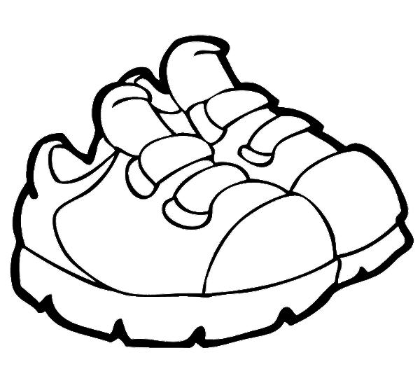 Boy Tying Girls Shoe Drawing
