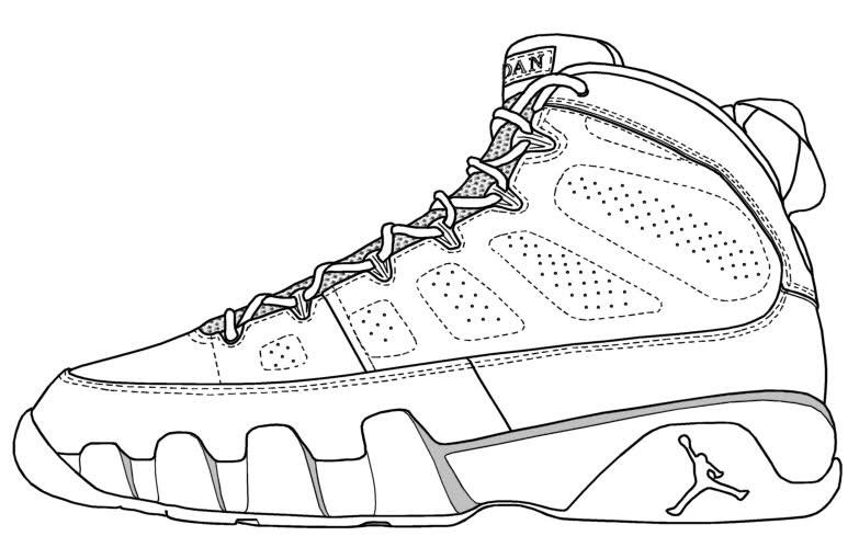 783x489 Drawing Of Jordan Shoes » The Landfillharmonic