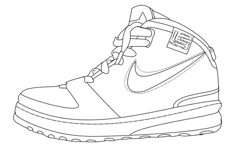 800x501 Gallery For Gt Sneaker Design Template Elementary Art