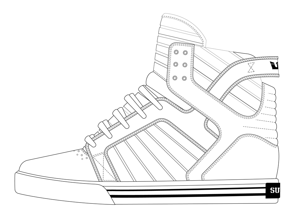 Shoe drawing template at getdrawings free for personal use 1024x763 shoe outline template cookie inspirationdecor pinterest maxwellsz