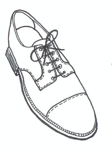 Shoe drawing template at getdrawings free for personal use 228x303 26 images of men39s shoe template maxwellsz