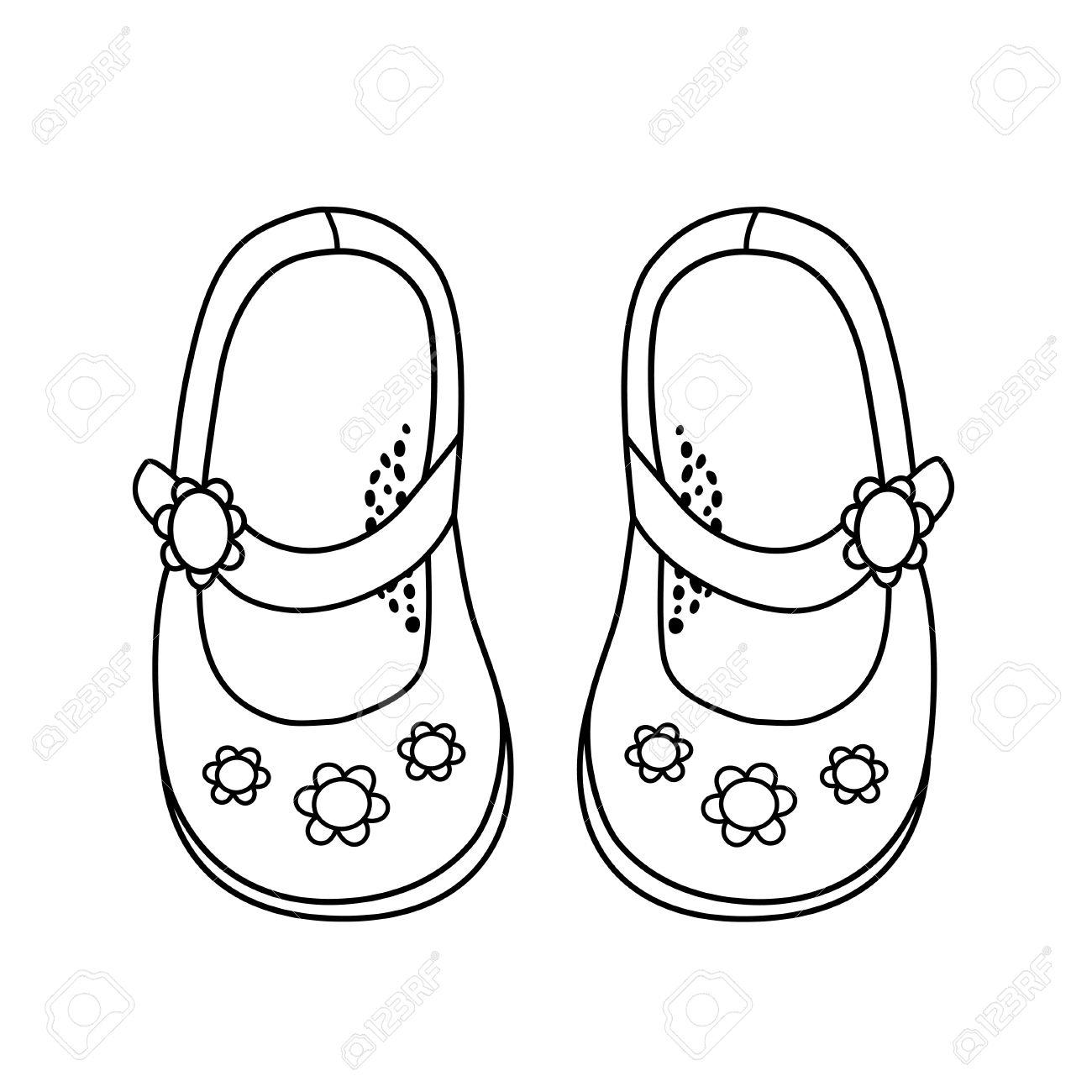 1300x1300 Cartoon Shoes Drawing