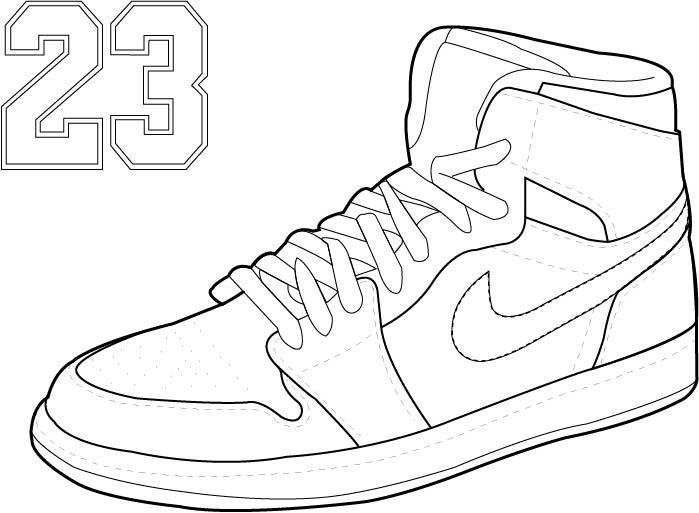 699x513 Sneaker Line Drawing On Behance