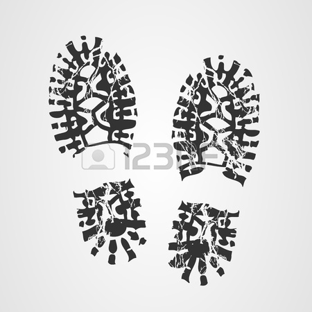 450x450 Boot Print Royalty Free Cliparts, Vectors, And Stock Illustration