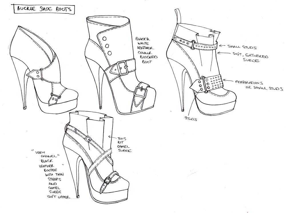 1000x744 Footwear Designer Shoe Designer Uk Ideation Sketches