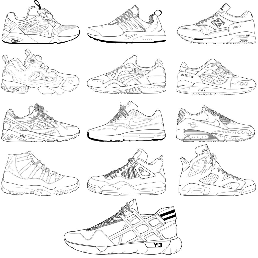 1030x1030 Zac Lynn's Sneaker Design With Artboard
