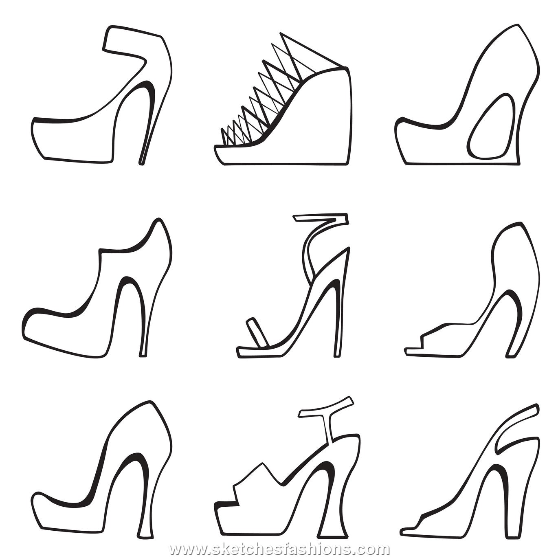 1370x1370 Shoe Design Sketch Variations Sketching How Tos